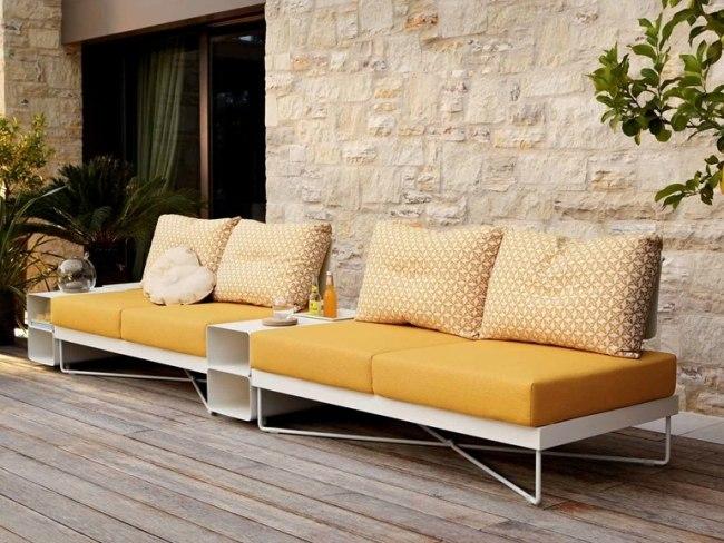 liegestuhl im garten ? 55 ideen für gestaltung vom lounge-bereich ...