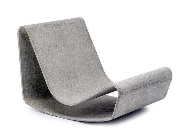 Design Schaukelstuhl Beton Paulsberg | Ocaccept.Com