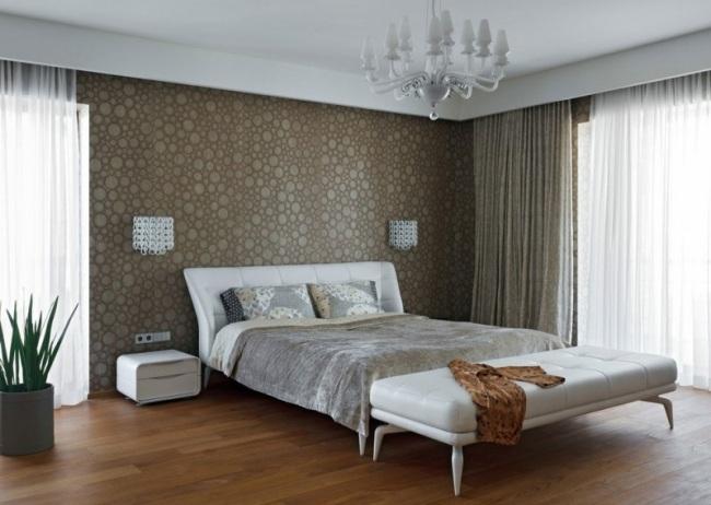 moderne Schlafzimmer Ideen - stilvoll mit Designer-Flair - schlafzimmereinrichtung ideen