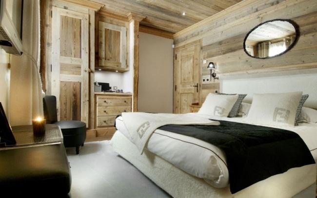 moderne Schlafzimmer Ideen - stilvoll mit Designer-Flair - schlafzimmer einrichten holz