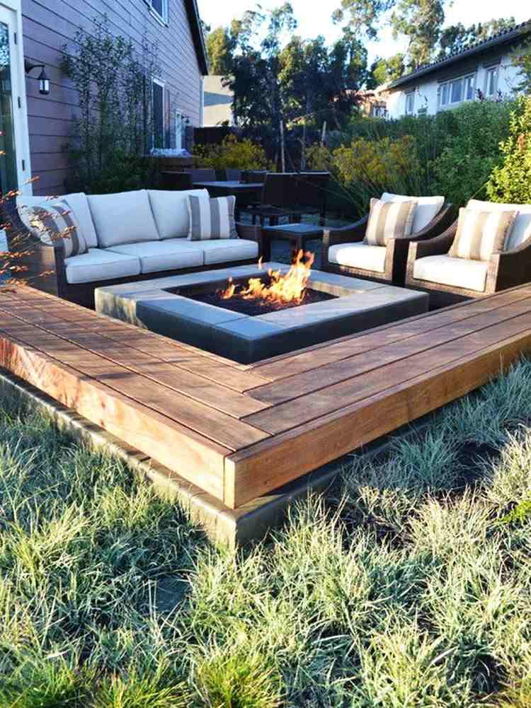 Sitzecke im Garten gestalten-so genießen Sie Ihre persönliche Ruheoase - garten gestalten bilder