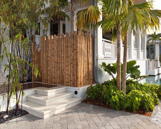 ... 34 Ideen Fur Sichtschutz Im Garten Mit Dekorativem Zaun Aus Bambus