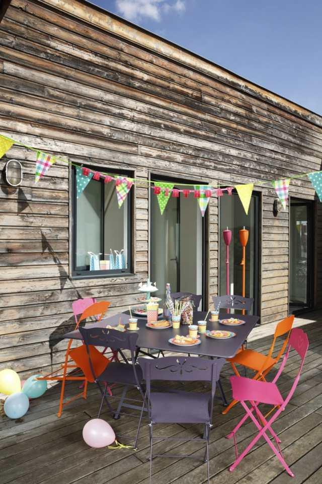 33 Klapptisch Ideen für mehr Platz und Komfort zu Hause und im Garten - lounge gartenmobel 22 interessante ideen fur paradiesischen garten