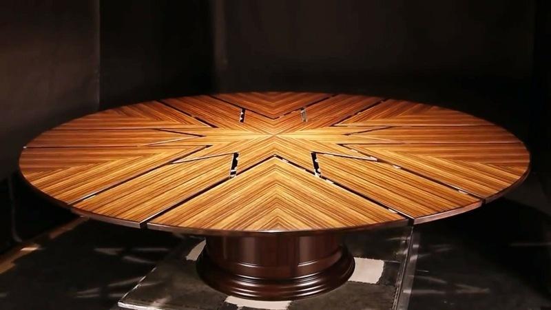 Der Innovative, Ausziehbare Esstisch Fletcher Capstan Aus Massivholz   Der  Ausziehbare Esstisch