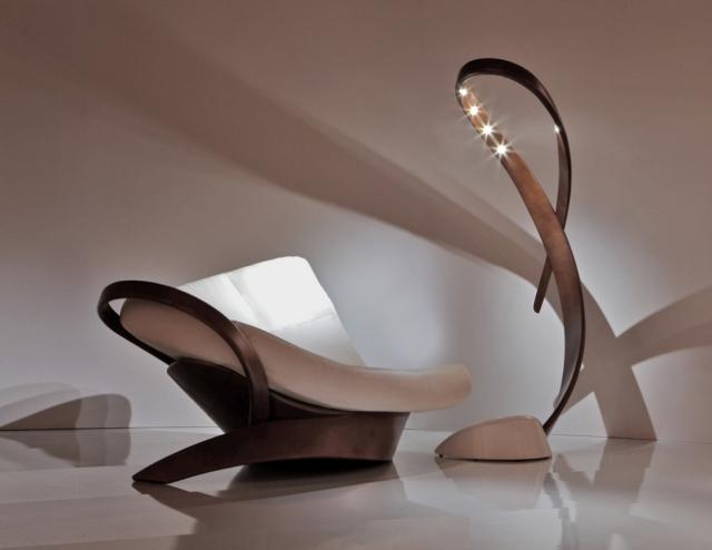 Moderne Sessel Design Möbelideen   Lounge Sessel Designs Holz Ausenbereich