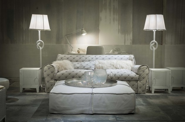 Designer Mobel Kollektion - Design - kuschelige sofas corbeille sofa edra