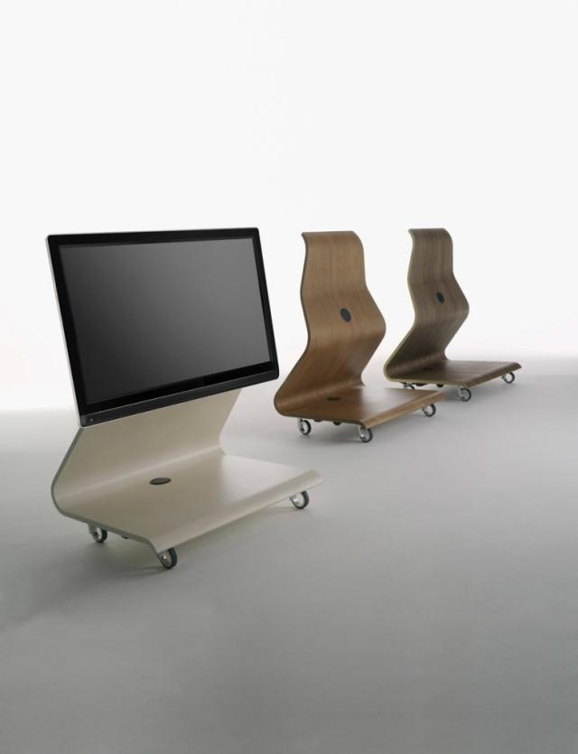 Ausgefallene Wohnzimmer Möbel   Der LCD TV Ständer Von Mario Bellini   Ausgefallene  Mobel Lcd