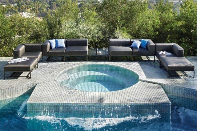 Moderne Lounge Moblierung u2013 equintinfo - lounge gartenmobel 22 interessante ideen fur paradiesischen garten