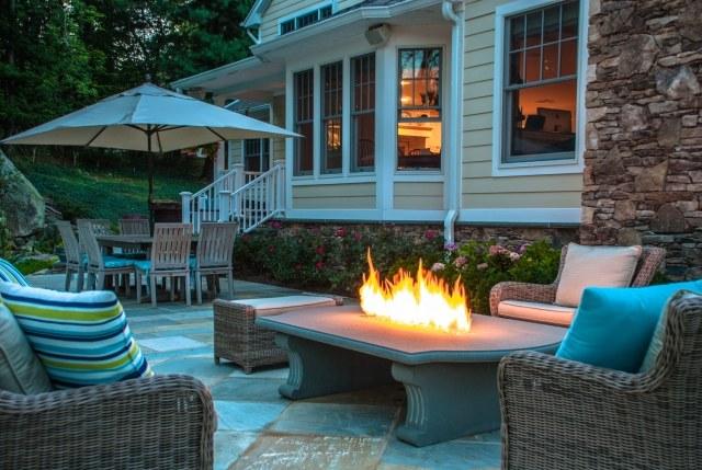 awesome gartenkamin bauen ideen terrasse ideas - janomeamerica.us ...