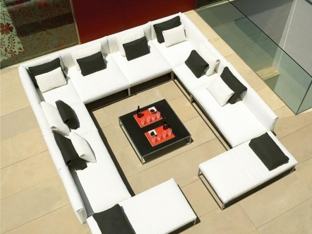Lounge Gartenmöbel - 22 interessante Ideen für paradiesischen Garten - lounge gartenmobel 22 interessante ideen fur paradiesischen garten