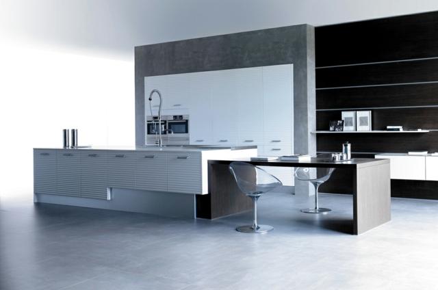 Minimalismus Kueche Elegante Linien Hausbillybullock Moderne Kuchenmobel  Piqudoca Puristische Asthetik Eleganz