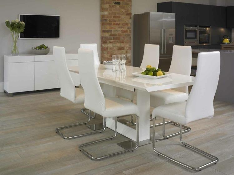 Aktuelle Trends für Esszimmer Möbel-modern, stylisch und funktional - mobel furs esszimmer essgruppe gestalten