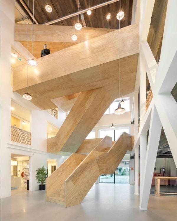 Awesome Holz Treppe Design Atmos Studio Gallery - Home Design Ideas ...