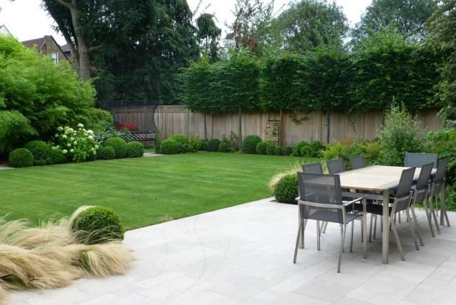 Terrassen-Sichtschutz mit Pflanzen - Neugierige Blicke fernhalten - tipps sichtschutz garten privatsphare