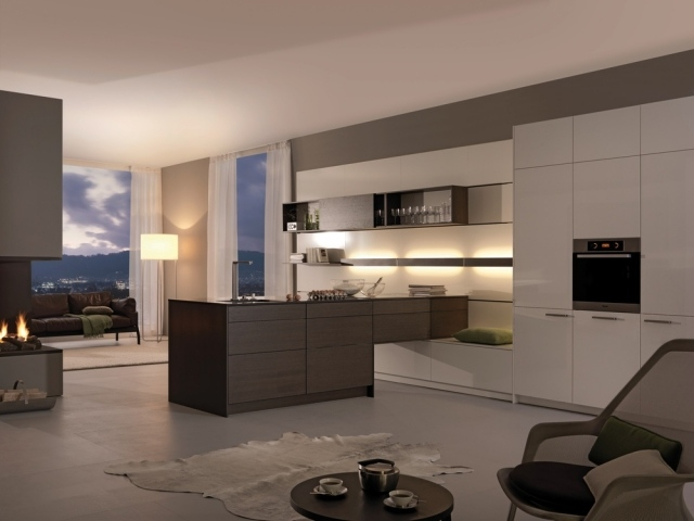 Moderne Küchengestaltung Mit Zeitlos Schönem Charakter Von Leicht   Moderne  Einbaukuechen Design Zeitlos