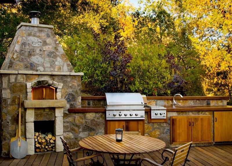 gartenkamin bauen ideen terrasse | hausdesign.paasprovider.com