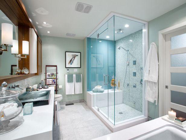 Bad mit Dusche modern gestalten - 31 ausgefallene Ideen - badezimmer modern gestalten