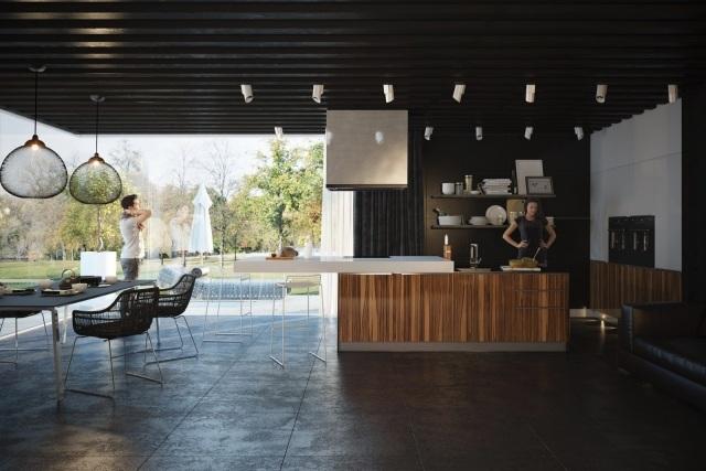 Designorientierte 3d-Küchenkonzepte, visualisiert von Artem Evstigneev - 3d kuchenkonzepte artem evstigneev