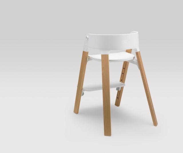 Designer Schaukelstuhl Holz Kurvigen Formen Eduardo Baroni - Design