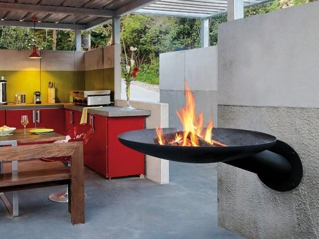 Der Grill im Garten u2013 drei platzsparende Designs der Marke Focus - kuche im garten balkon grill