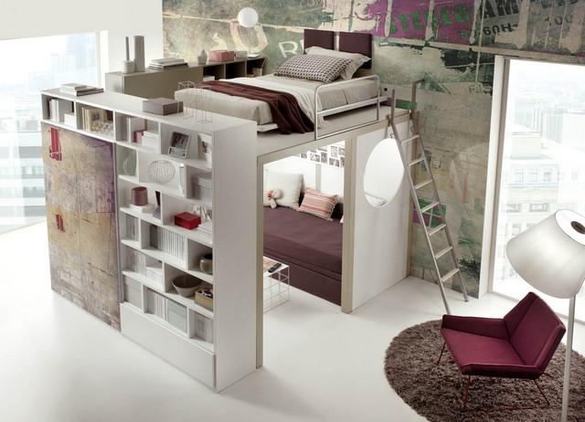 30 Einrichtungsideen für Schlafzimmer -den kleinen Raum optimal nutzen - schlafzimmer ideen fur kleine raume
