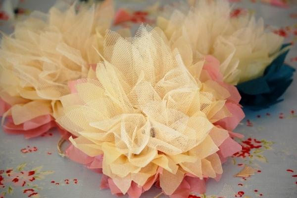 Blumen zum Muttertag basteln - 26 Ideen aus Seidenpapier - blumen basteln