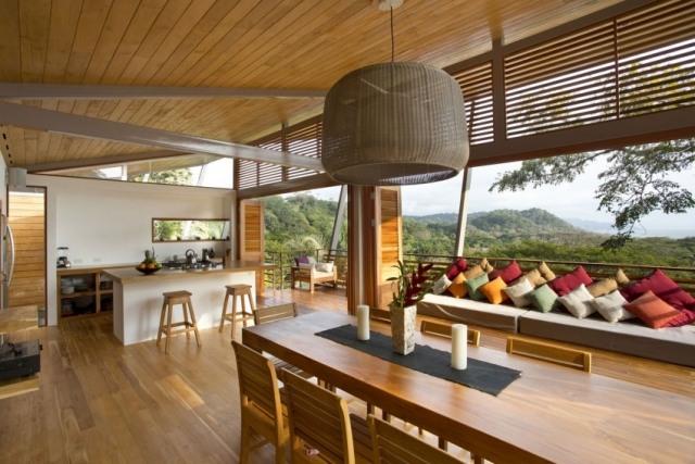 Emejing Holzverkleidung Haus Fussboden Ideen Decke Contemporary ...