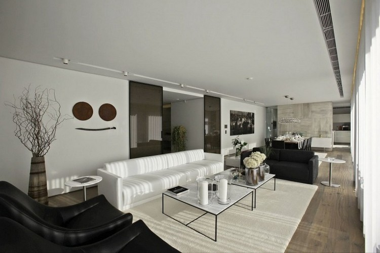tapete wohnzimmer modern reizend on modern auf tapeten wohnzimmer ... - Wohnzimmer Schwarz Weis Braun