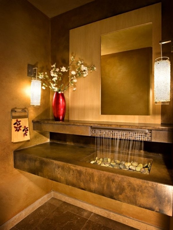 30 außergewöhnliche Designer Waschbecken geben dem Badezimmer Pfiff - badezimmer 30er