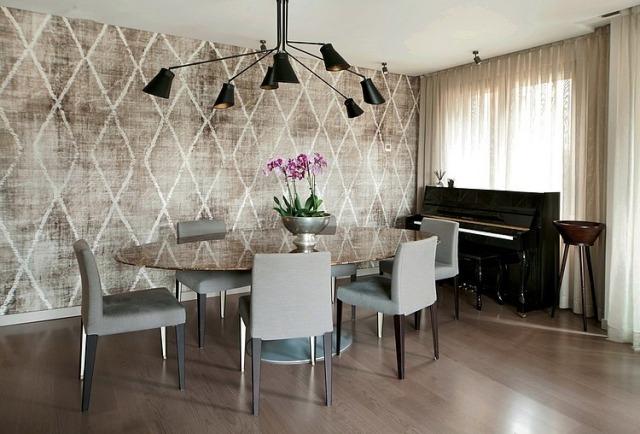 Esszimmer Gestaltung Steht Für Vollendeten Genuss 111 Ideen   Stilvolle  Esszimmer Mobel Retro Look