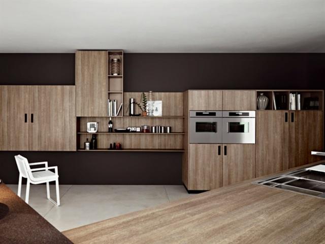 Moderne-einbaukuche-farbe-fronten-40 die moderne einbauküche - moderne einbaukuche besticht durch minimalistische asthetik