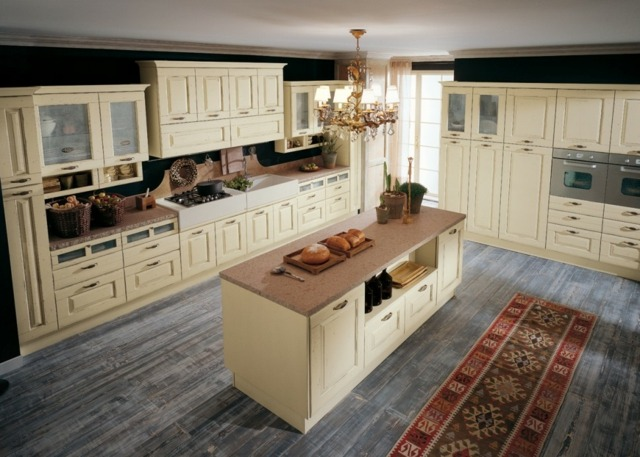 ... Nauhuri Küche Landhausstil Kochinsel ~ Neuesten Design   Moderne Kuchen  Designs Colombini Casa ...
