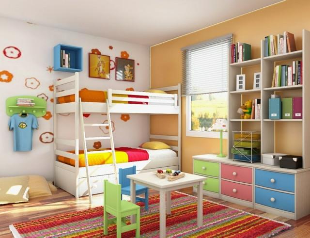 Kinderzimmer-praktisch-einrichten-83. spielecke im kinderzimmer ...