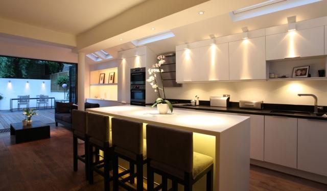 Die perfekte Beleuchtung in der Küche - Was sollten Sie beachten? - kuche beleuchtung