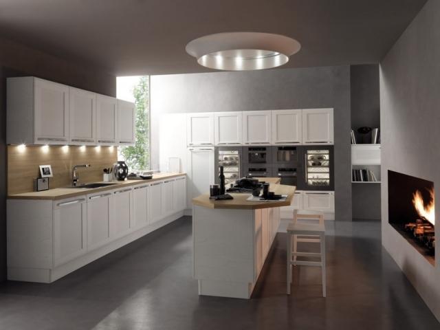 ... Renovierte Moderne Kuche Architektonischen Charakter   Design   Moderne  Kuchen Designs Colombini Casa ...