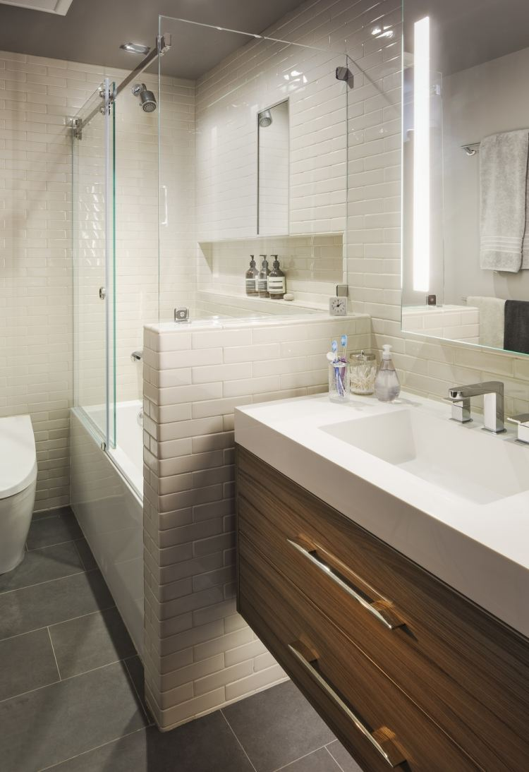 Kleines Badezimmer Ideen Modern Dekoideen Bad Selber Machen