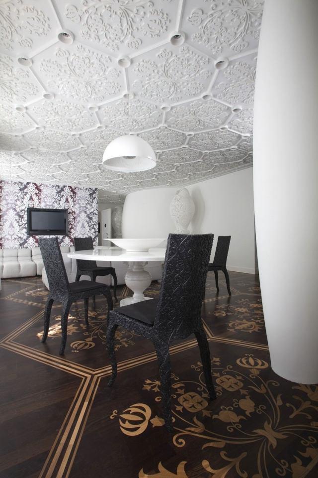 Best Designer Wohnung Schwarz Weis Kontraste Photos   House Design ...    Designer Wohnung