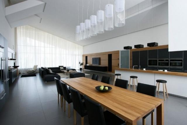 Esszimmer Design Schwarz Weis Kontraste [haus.billybullock.us]   Esszimmer  Design Schwarz