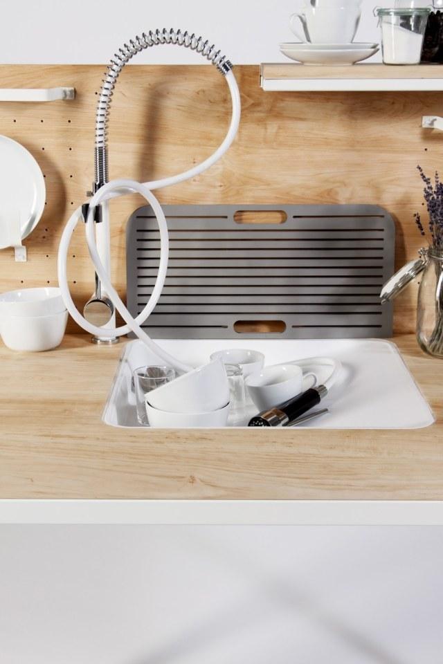Fesselnd Kompakte Singleküche Mit Funktionalem, Offenem Design   Kompakte  Singlekuche Design