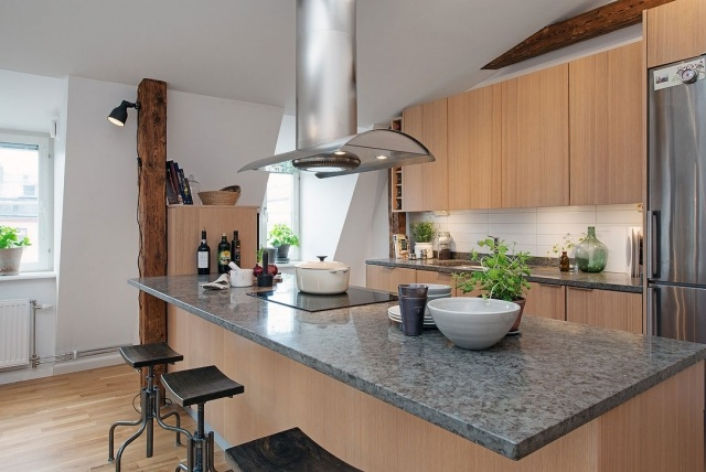 Awesome Futuristisches Interieur Loft Wohnung Contemporary - Amazing ...