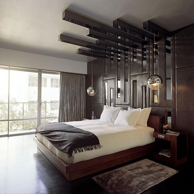 105 Schlafzimmer Ideen zur Einrichtung und Wandgestaltung - schlafzimmer wandgestaltung braun