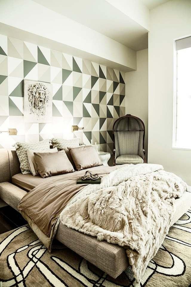 105 Schlafzimmer Ideen zur Einrichtung und Wandgestaltung - braun und creme schlafzimmer