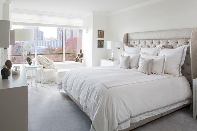 105 Schlafzimmer Ideen zur Einrichtung und Wandgestaltung - schlafzimmer creme wei
