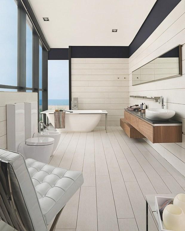 105 Bad Design Ideen Für Mehr Stimmung, Stil Und Wellness   Badezimmer 30er  Jahre