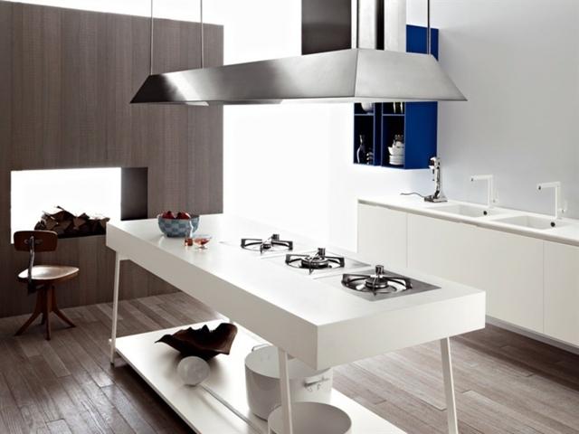 Moderne Matt Weise Kueche Vetronica - Design - moderne einbaukuche besticht durch minimalistische asthetik