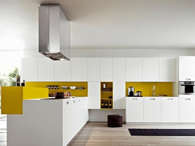 Moderne Einbaukuche Farbe Fronten u2013 edgetagsinfo - moderne einbaukuche besticht durch minimalistische asthetik