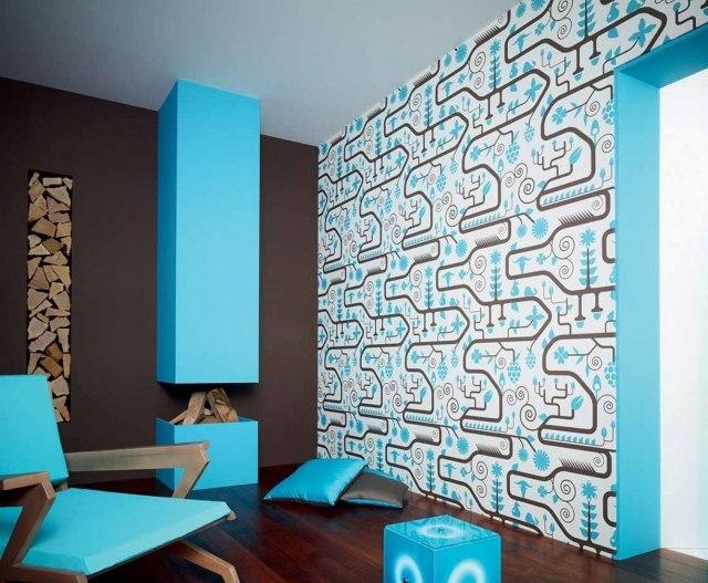 wohnzimmer-modern-kamin-hellblau-wanddeko-tapete-ranitajpg (JPEG - wohnzimmer tapete modern