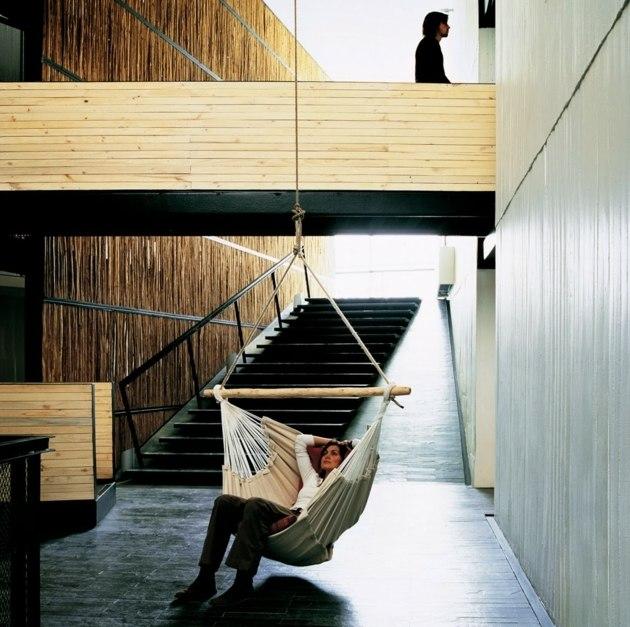 Designer Hangematte Holzgestell - Design