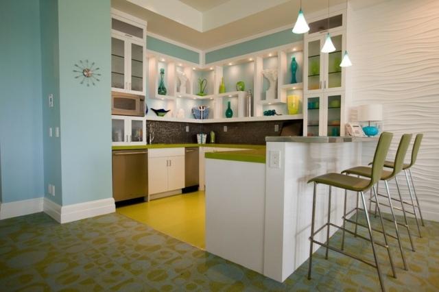 Küchengestaltung Bilder rheumri - kuchengestaltung mit farbe 20 ideen tricks