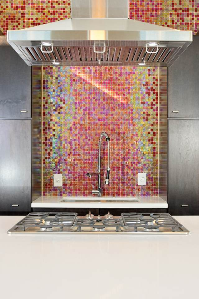 Fliesenspiegel Küche Mosaik Fliesen